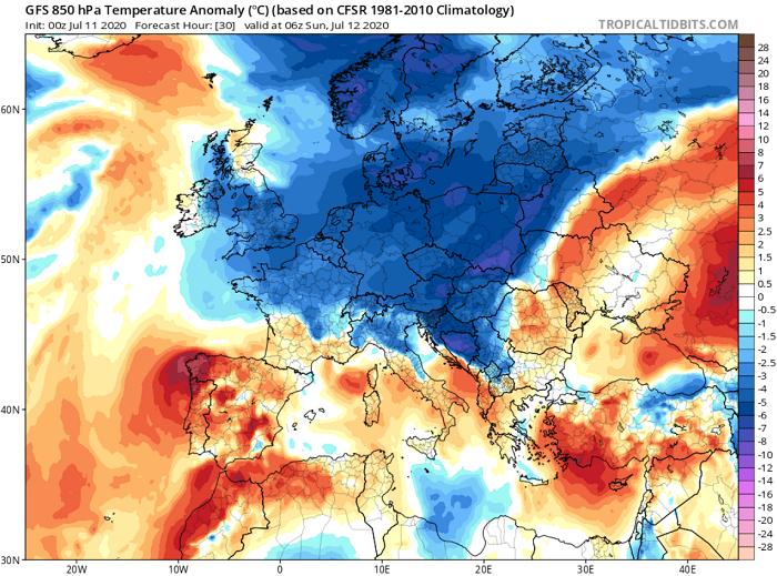 Ιδιαίτερα θερμό σαββατοκύριακο με μικρές πιθανότητες βροχής στα ορεινά