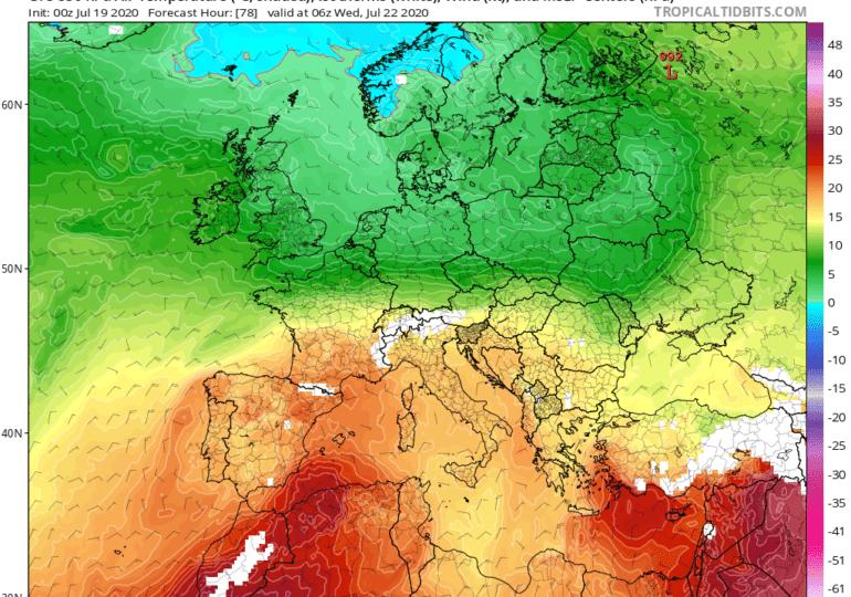 Ιδιαίτερα θερμή η ερχόμενη εβδομάδα - Επιστρέφουν τα 40αρια+