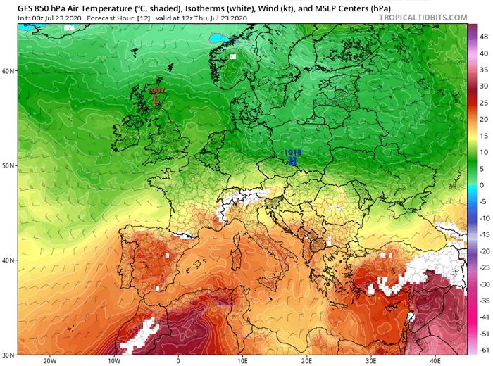 Συνεχίζουν τα 40άρια μέχρι το τέλος της εβδομάδας - Ακολουθεί περαιτέρω άνοδος της θερμοκρασίας