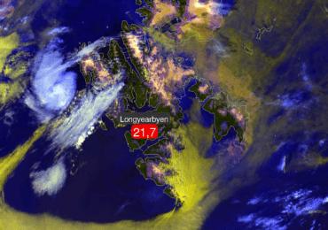 Νέο ρεκόρ υψηλών θερμοκρασιών στο αρχιπέλαγος Svalbard στον Αρκτικό Κύκλο