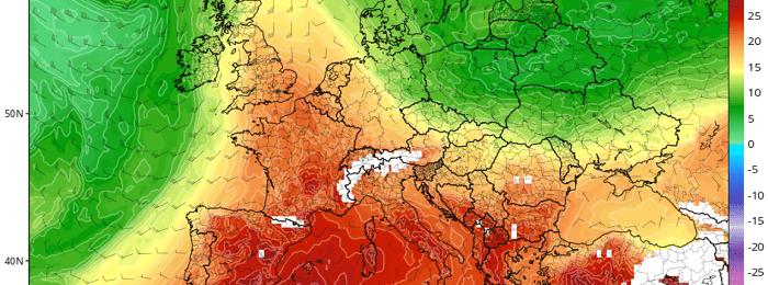 Η πιο θερμή ημέρα του καλοκαιριού σήμερα - Γύρω στους 43 βαθμούς Κελσίου ο υδράργυρος