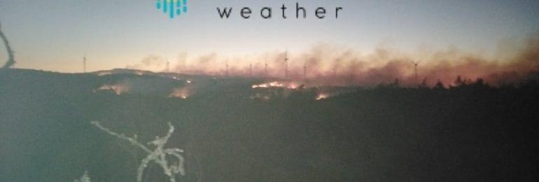 Έκτακτο: Πυρκαγιά μεγάλων διαστάσεων με πολλαπλές εστίες στην επαρχία Πάφου