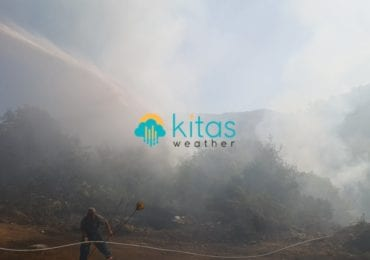 Μεγάλων διαστάσεων πυρκαγιά μεταξύ Πάφου-Λεμεσού