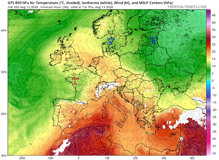 Παραμονεύουν τα 40άρια - Αναλυτικά το δελτίο καιρού μέχρι τον Δεκαπενταύγουστο