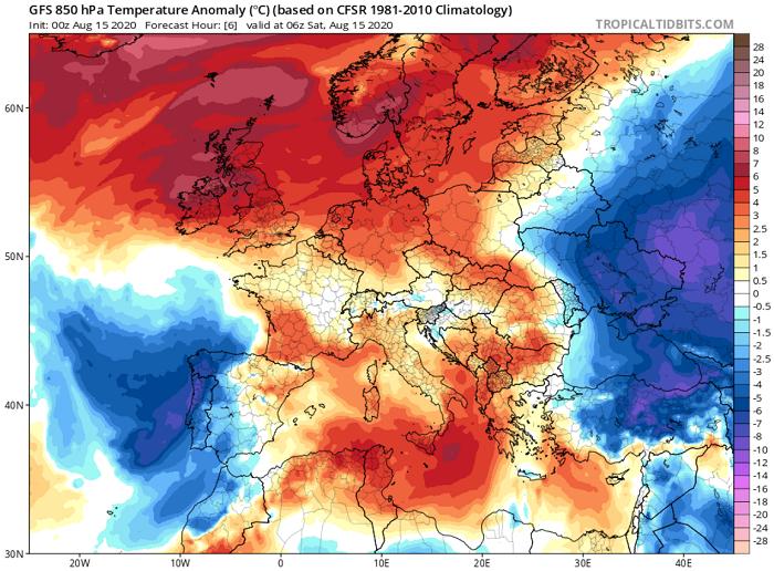 Συνεχίζει ο θερμός καιρός - Γύρω στους 41 βαθμούς Κελσίου ο υδράργυρος σήμερα