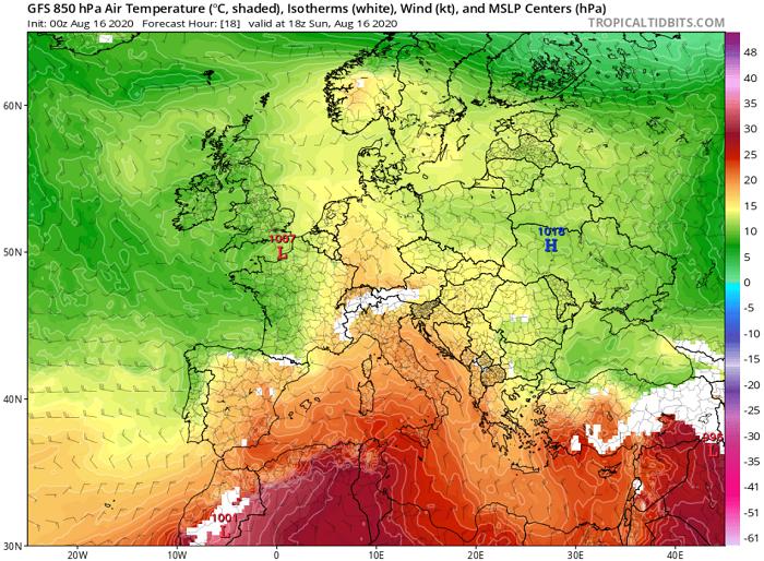 Παραμένει θερμός ο καιρός με 40άρια μέχρι τα μέσα της ερχόμενης εβδομάδας