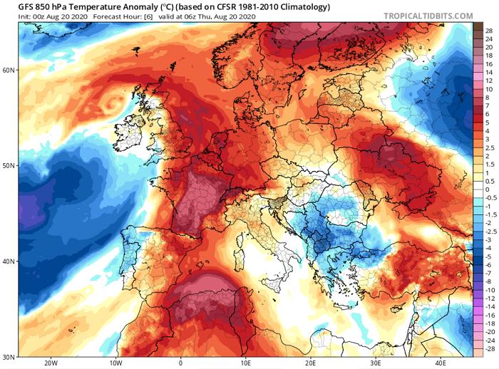 Συνεχίζει ο θερμός καιρός - Ελαφρώς πιο κάτω από τους 40 βαθμούς Κελσίου ο υδράργυρος