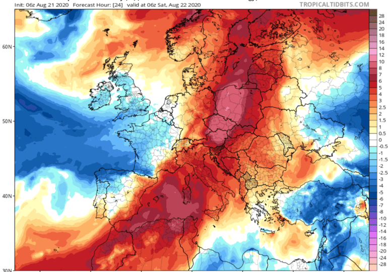 Θερμή και ξηρή αέρια μάζα θα επηρεάζει την περιοχή μας το σαββατοκύριακο