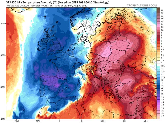 Πιθανότητα μεμονωμένων βροχών σήμερα/αύριο - Ακολουθούν εξαιρετικά θερμές αέριες μάζες