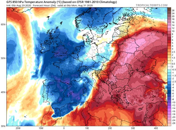 Κορυφώνονται οι θερμές αέριες μάζες το επόμενο διήμερο - Έως τους 43-44°C ο υδράργυρος