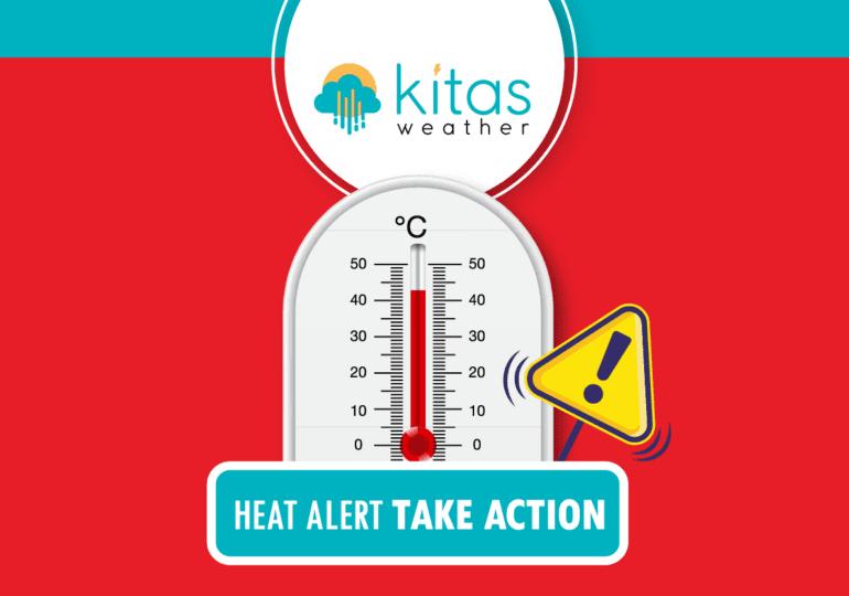 Κόκκινη/Πορτοκαλί και Κίτρινη προειδοποίηση υψηλών θερμοκρασιών για αύριο Δευτέρα (31/8)
