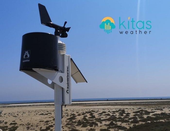 Συνεργασία ΣΑΛ/Kitasweather - Εγκατάσταση 4ων μετεωρολογικών σταθμών