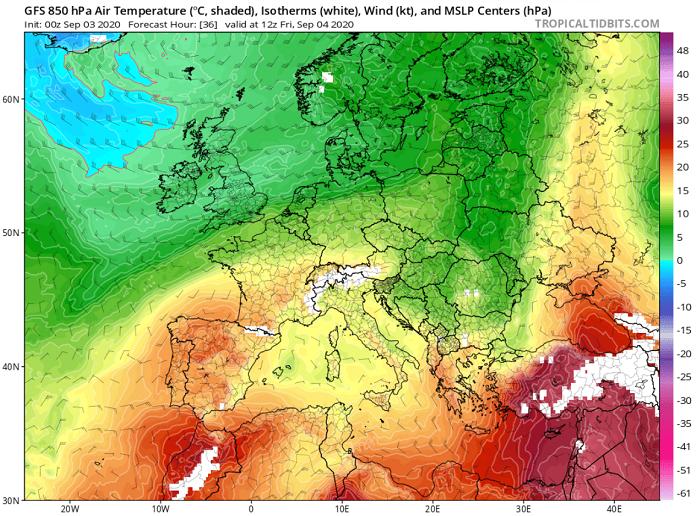 Ακραία υψηλές θερμοκρασίες τις επόμενες ημέρες - Απειλούνται θερμοκρασιακά ρεκόρ
