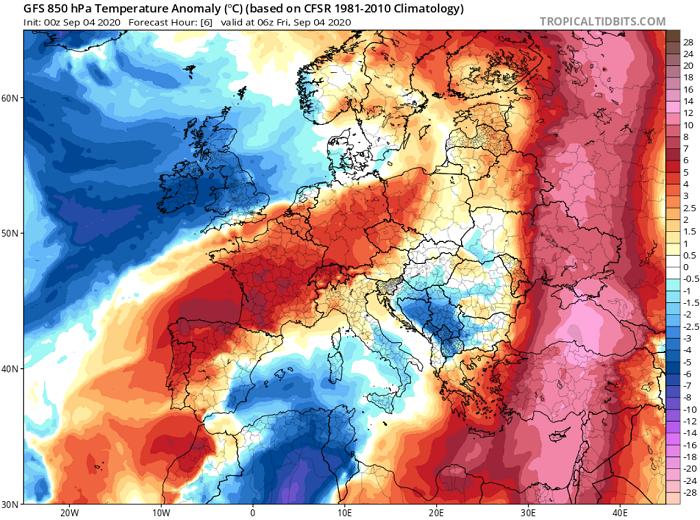 Γύρω στους 46 βαθμούς Κελσίου ο υδράργυρος σήμερα - Απειλείται το απόλυτο ρεκόρ
