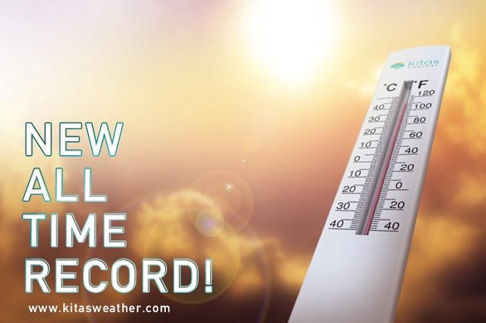 Ιστορική θερμοκρασιακή καταγραφή - Καταρρίφθηκε το παγκύπριο ρεκόρ των 45.6 βαθμών Κελσίου