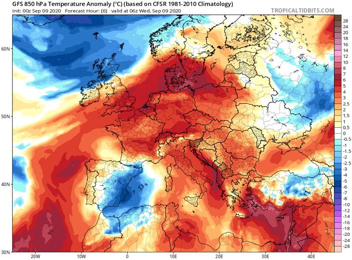 Συνεχίζουν τα 40άρια+ μέχρι την Παρασκευή - Ακολουθεί πτώση της θερμοκρασίας