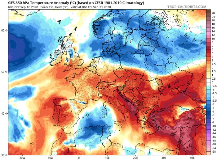 Εξαιρετικά θερμός για την εποχή ο καιρός σήμερα και αύριο - Υποχωρούν οι θερμές αέριες μάζες το Σ/Κ