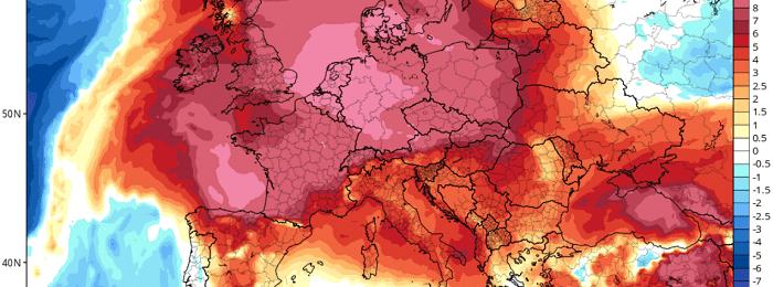 Έρχεται νέα άνοδος της θερμοκρασίας το επόμενο τριήμερο - Ακολουθεί πτώση των θερμοκρασιών