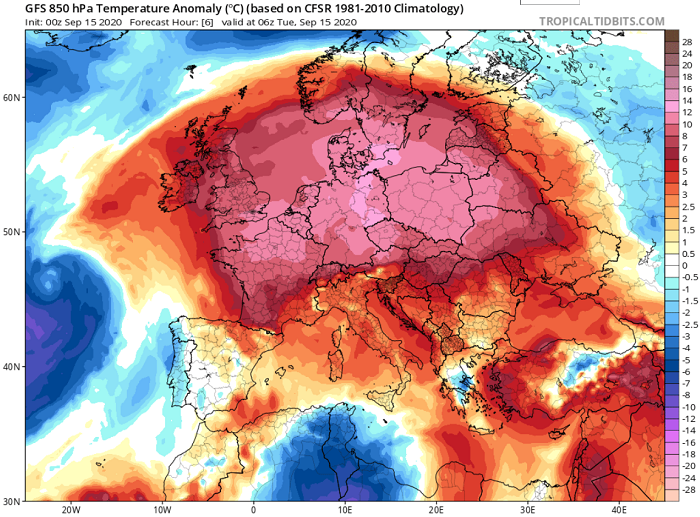 Συνεχίζει ο θερμός καιρός - Ακολουθεί πτώση της θερμοκρασίας και αύξηση πιθανοτήτων βροχής