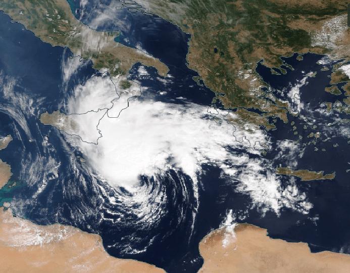 Πιθανή δημιουργία Medicane στην κεντρική Μεσόγειο - Τι είναι και πώς θα επηρεάσει την περιοχή μας