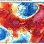 Υποχωρούν σταδιακά οι ιδιαίτερα θερμές αέριες μάζες – Ενίσχυση ανέμων και πτώση της θερμοκρασίας