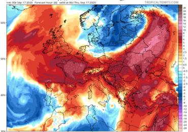 Υποχωρούν σταδιακά οι ιδιαίτερα θερμές αέριες μάζες - Ενίσχυση ανέμων και πτώση της θερμοκρασίας