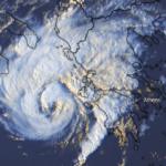 """Ενισχύεται ο μεσογειακός κυκλώνας """"Ιανός"""" – Άρχισε να επηρεάζει τις ελληνικές ακτές (Bίντεο)"""