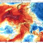 Σταδιακή αισθητή πτώση της θερμοκρασίας τις επόμενες ημέρες – Πιθανότητα μεμονωμένων βροχών