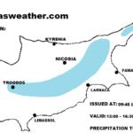 Πιθανότητα μεμονωμένων βροχών/καταιγίδων σήμερα – Κοντά στις κανονικές τιμές ο υδράργυρος