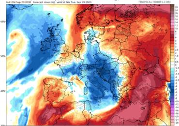 Γενικευμένα 40άρια σήμερα - Ακολουθεί κατακόρυφη πτώση θερμοκρασίας και ενίσχυση ανέμων