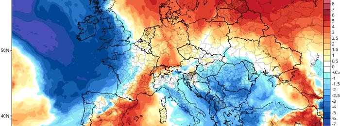 Αισθητή πτώση της θερμοκρασίας το επόμενο διήμερο - Ακολουθεί νέα άνοδος τέλος της εβδομάδας