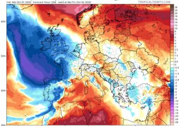 Κοντά στα κανονικά η θερμοκρασία σήμερα και αύριο - Επιστρέφουν οι θερμές αέριες μάζες