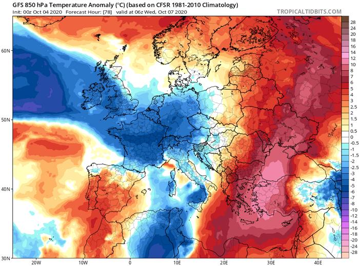 Ακραία υψηλές θερμοκρασίες για την εποχή την ερχόμενη εβδομάδα - Απειλείται το ρεκόρ Οκτωβρίου