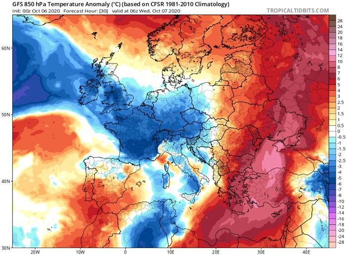 Ακραία υψηλές θερμοκρασίες για την εποχή και σκόνη μέχρι την Πέμπτη