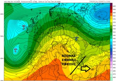 Τάση για πιο φθινοπωρινό καιρό από εβδομάδας - Πτώση θερμοκρασίας και πιθανότητες βροχής