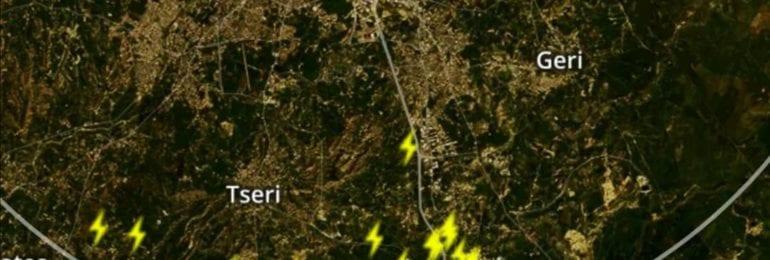 Ισχυρή καταιγίδα επηρεάζει τμήμα του αυτοκινητόδρομου - Δείξτε προσοχή