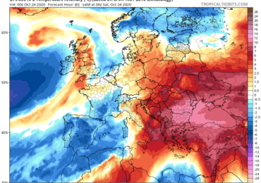 Συνεχίζει ο θερμός καιρός απουσία βροχών - Τάση αλλαγής της κυκλοφορίας στα τέλη του μήνα
